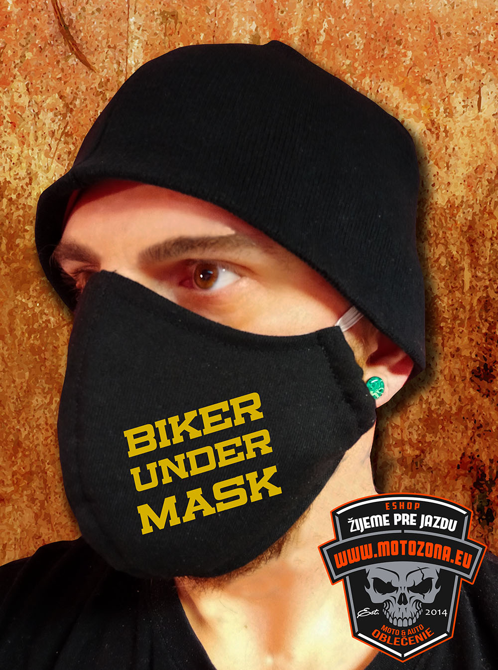 Rúško na tvár Biker under Mask